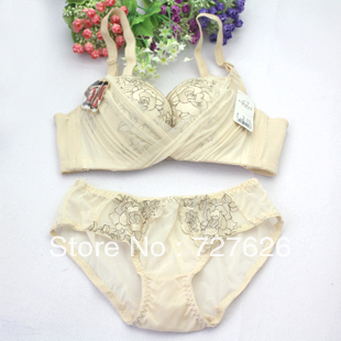 Free shipping! 2013 summer new sexy lingerie deep V adjustable bra gather small chest suit optional