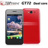"Original Cubot GT72 Lady phone 4.0"" Capacitive screen Android 4.2 Dual core MTK6572 Smart phone Multi-colors"