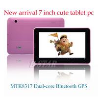 Free shipping 7 inch B-STAR T723E android 4.1 MTK8317 dual-core 2G SIM phone Cute tablet pc dual Cameras WIFI Bluetooth GPS