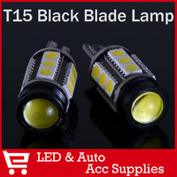 2 X 921 194 168 T15 W16W Super Bright Cree Emitter + 15SMD 5050 LED 360 degrees car Backup Reserve Lights Bulb