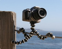 Octopus tripod Flexible Gripping Stand Tripod For Digital Camera&DV -S  size FREE SHIPPING