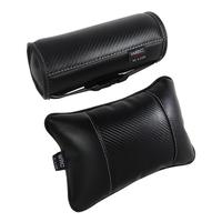 Wrc car headrest luxury carbon fiber car bone pillow neck pillow front and rear