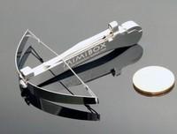 Toy mini crossbow decoration mini model pocket-size bird steel ball