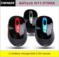 A4TECH famous brand, G11-570hx wireless mouse built-in lithium- battery laptop game mouse