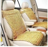 Fragrant wood beads cushion wood seat camphor wood car seat cushion health seat set