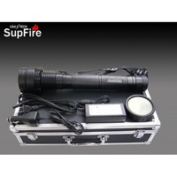 SupFire 35W HID Bright Flashlight,3500 Lumens,1000 Meters,Distand Range