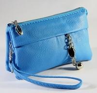 Free shipping 2014 women day clutch bag  zipper coin purse mobile phone bag