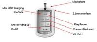 Free shipping stereo bluetooth headset bt - 3030 wireless headset phone gm