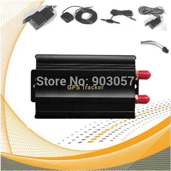 TK103 Vehicle/Car GPS tracker Car Alarm GPS Device Car Tool Quadband cut off fuel PC&web-based GPS tracking system Free Shipping(China (Mainland))