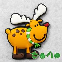 Refrigerator stickers magnets cartoon animal magnet onta  MOQ 5PCS Support Mixed Batch