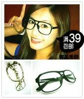 Fashion vintage parallel bars glasses frame general y113 decoration