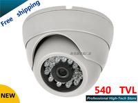 free shipping HD 540TVL ccd cctv cam IR cctv camera surveillance camera security camera wholesale dome cameras
