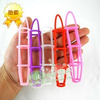 Silica gel nets male delay thimbler lengthen the penis coarse adult supplies 200 ,sex toys for adults