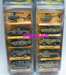 Alloy car model toy slitless fire truck set combination 4 loading