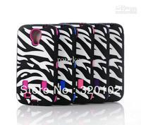 Hybrid Hard Plastic Soft Rubber black Zebra HIGH Impact CASE FOR Samsung Galaxy S4 i9500 200pcs
