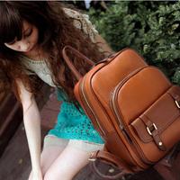 Red pepper - women's backpack handbag preppy style backpack vintage casual backpack