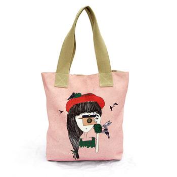Intergards canvas shopping tote bag one shoulder bag man bag eco-friendly women's handbag customize