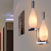 Led living room wall lamp modern brief ofhead lamps bottle lamp 1276