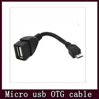 Micro USB OTG Cable adapter For Samsung Galaxy S3 S2 i9300 Free Shipping