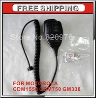 AARMN4026B Speaker MIC Microphone for Motorola CDM1550 CDM750 GM338 Car Radio 8pin handheld microphone+Free Shipping