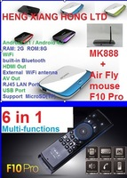 [ Free MELE F10 Pro Air Fly Mouse ]HK Air Mail Free Shipping, 1.6Ghz 2G RAM 8G ROM Android 4.2.2 Quad core RK3188 TV BOX MK888