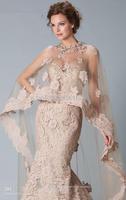 Wholesale -  Prom Dresses Sexy Janique JQ3329 Lace Wrap Floor Length Applique Prom Dresses