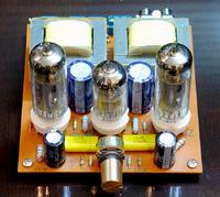 HIFI  6N2+6P14  TUBE power amplifier 2.0 class A BOARD FOR diy kit