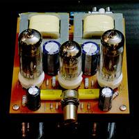 HIFI  6N2+6P1 TUBE power amplifier 2.0 class A BOARD FOR diy kit