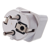 Universal European AC Plug Travel Adapter