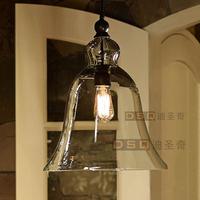 Modern American style Single  big bell pendant light led pendant light-Diameter 350mm