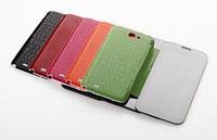 Mirror Leather Folio Cover Case Samsung Galaxy Note 2 II N7100