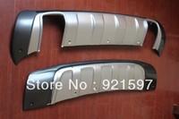 Advanced auto parts OE aluminium skid plate for Hyundai Tucson 2005-2013 Front and Rear Bumper board free shipping(DHL,FedEx)