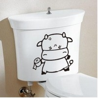 South Korea creative lovely naughty expression toilet toilet stickers wall stickers cartoon stickers personalized stickers water