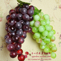 Super High quality!! artificial fruit grape gree and purple.150g/piece
