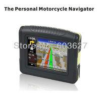 "3.5"" waterproof(IP54) bluetooth 4GB flash MOTO/Bike navigator samsung chip 128MB new cheap moto/bike gps M3505"