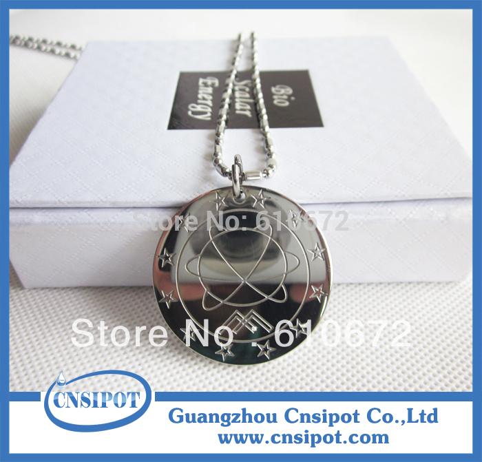 stainless steel MST quantum scalar energy pendants 7pcs/lot(China (Mainland))