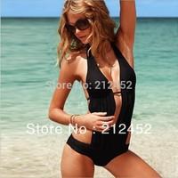 lingerie swimsuit costume sexy black bikini on sale free shipping swimwear women Christmas gift beachwear swimming suit
