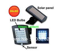 New 36 LED Outdoor Solar Power Motion Sensor PIR Security Wall Path Garden Light