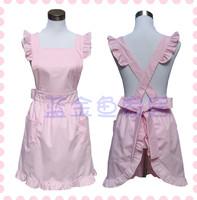 Aprons pink waterproof oil princess fashion home fun