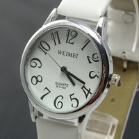 Fashion watch brief large watches digital scale men and women watches strap watch lovers table