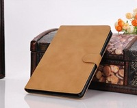 Retro Luxury Stand holder leather case for ipad mini -- 50pcs+screen protector  DHL free