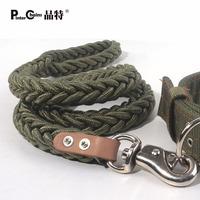 Coarse traction rope dog chain dog rope large dog collar set tibetan mastiff zhuaizhu