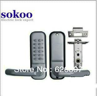 Free Shipping Good Quality The Brand Electric Lock Keyless Mechanic Door Lock for Home