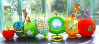 The World of Eric Carle: The Very Hungry Caterpillar Teether Rattle kids preferred