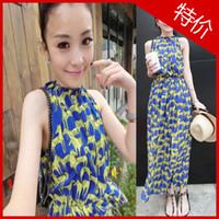 2013 queen horse pattern spaghetti strap slim waist sleeveless chiffon full dress