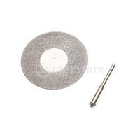 Free Shipping 50mm Diamond Cutting Discs Cut Off Wheels w/ Arbor