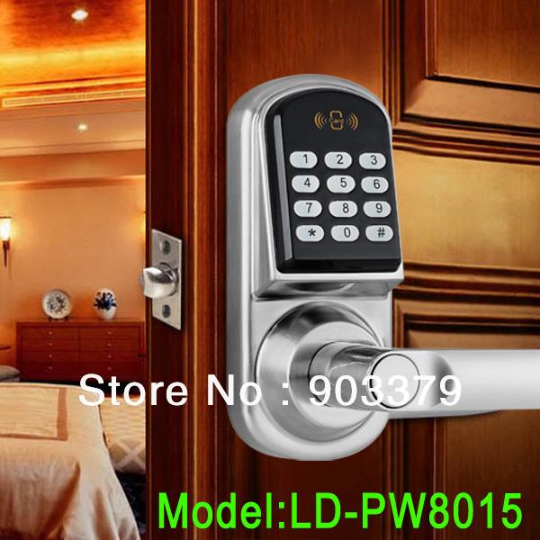 keypad electronic door lock digital keypad door lock wireless smart keypad door. Black Bedroom Furniture Sets. Home Design Ideas