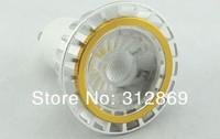 [Seven Neon]Free DHL express shipping 50pcs high quality GU10 E27 MR16 3W COB warm white/white led spotlight,3W COB spotlight