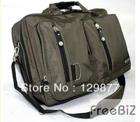 Freebiz 15 17 multifunctional laptop bag large capacity portable double-shoulder casual laptop bag