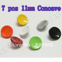 100% GUARANTEE 7 PCS 11MM L Soft Shutter Release Button for canon nikon Fujifilm X100 Leica M3 M4 M6 M7 M8 M9